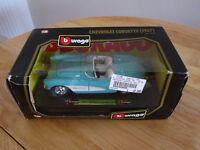 Burago Chevrolet Corvette 1:24 Die Cast Model