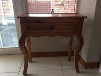 Creations Mexican Pine Console Table