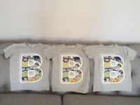 Ted Baker boys t shirts age 4-5 years £4 each