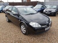 Nissan Primera 1.8 S 5dr, 1 FORMER KEEPER. 1 YEAR MOT. HPI CLEAR. GOOD CONDITION. P/X WELCOME