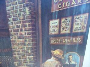 "Vintage, Victorian Street Scene by Lee Dubin ""The News Hawker"" Stratford Kitchener Area image 6"