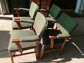 Set of four vercon chairs