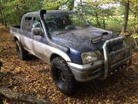 Mitsubishi L200 pickup truck - offroad 4x4 pick up turbo diesel manual aircon export import £1500