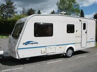 LIGHTWEIGHT BAILEY 4 -BERTH CARAVAN 510/4,END WASHROOM WITH MOTOR MOVER,GLEAMING CONDITION