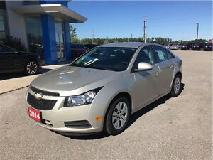 2014 Chevrolet Cruze LT - One Owner Trade In