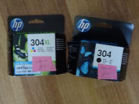 HP 304 printer ink (£6 each)