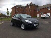2010 Ford Ka 1.2 Studio 3 Dr Black Only 36000 Miles Looks Runs Drives Great Very Economical Look