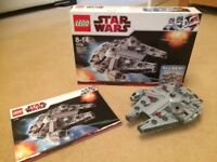 Lego Star Wars Millennium Falcon 7778 Complete Set with Box
