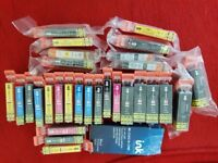 30 INK COMPATIBLE WITH CANON MP560 PRINTER. 30 CARTRIDGES ALL NEW AND SEALED