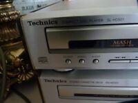 TECHNICS MICRO STEREO SYSTEM, CD PLAYER, TUNER, CASSETTE PLAYER, LOVELY CONDITION,£50 CAN DELIVER