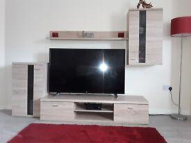Modern 4 piece TV unit