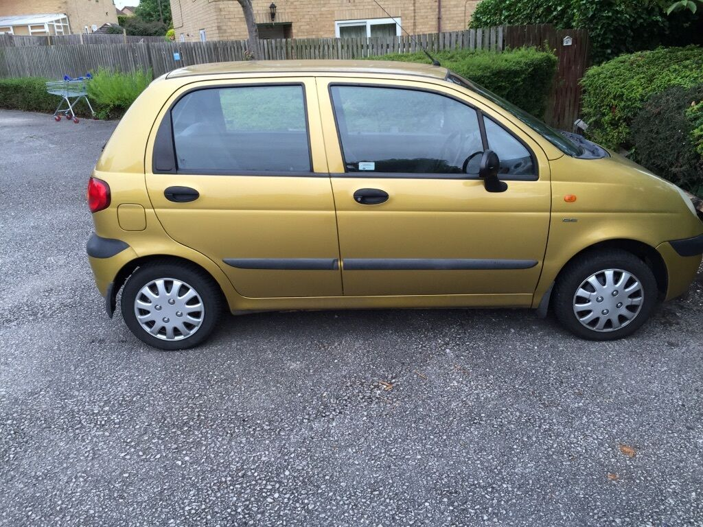 Daewoo matiz 800cc gold 2001 68000 miles | in Walnut Tree ...