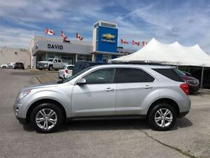 2010 Chevrolet Equinox 2LT FWD, TINT, LEATHER, LOCAL TRD.!!