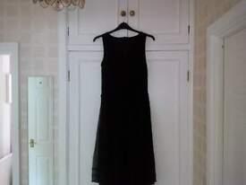 Beautiful Beaded Evening Dress Size 16