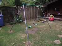 2 Seater Swing Set - Open to offers