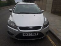 2010 Ford Focus 1.6 diesel manual MOT, tax and PCO badge