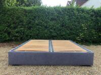 Fantastic Headboards Ltd Hempel Super King Low Platform Upholstered Bed Frame