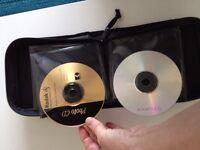 """""""CASE LOGIC"""" CD/DVD TRAVEL CASE ~ Holds 32"""