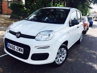 FIAT PANDA 2017 DONE ONLY 1300 MILES 1 OWNER NOT YARIS POLO GOLF AURIS PRIUS BMW
