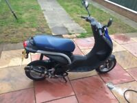 Peugeot ludix moped scooter 50cc - 70cc 2004
