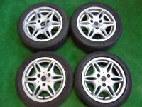 "SMART FORTWO 15"" inch ALLOY WHEELS SILVER"