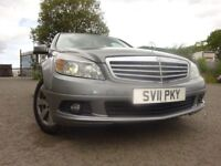 011 MERCEDES BENZ C220 BLUEEFF-CY SE CDI 2.2 DIESEL AUTOMATIC,MOT MARCH 019,1 OWNER,FULL HISTORY