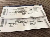 Sitting Craig David tickets £70