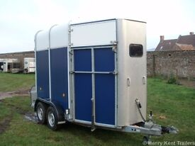 Ifor Williams HB505 Horse Trailer/ Box