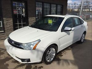 2010 Ford Focus SEL LEATHER ROOF 115K!