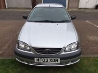 2003 Toyota Avensis 1.8 VVT-i GS 5dr One Owner from 2005 HPI Clear @ 07445775115 @ 07725982426@