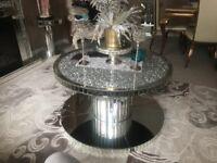 Diamond crush coffee table bargain!!!