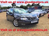 2007 Saab 9-3 Linear Sports 1.9DTH Estate*H/Leather*Climate control*Park aid*Alloys*Radio/CD/Aux*