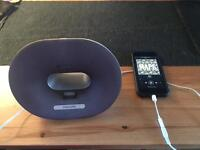 philips portable docking station iphone 5 ds3020/05