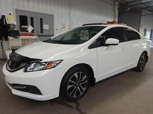 2014 Honda Civic Sedan EX TOIT OUVRANT AILERON  **65$ / SEM **