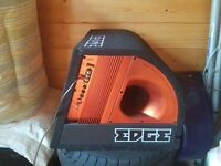 """Edge 12"""" 900watt subwoofer with built in amp. comes with long wires. £60 O.N.O"""