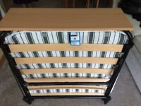 Jay-Be Auto Folding Bed - Single Used 3-4 times! Excellent/New condition..(Rrp £129.99)