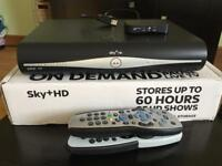 Sky HD box with wireless connector