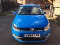 2014 (64) VW POLO 1.0 BLUEMOTION Stop/start low mileage