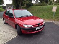1998 PEUGEOT 306 LX FULL SERVICE HISTORY NICE CONDITION.