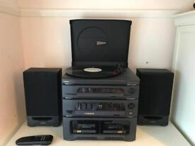 Goodmans Record player/Cassette player/Radio