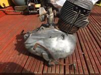Classic Ducati motorbike engine (engine number 604728)