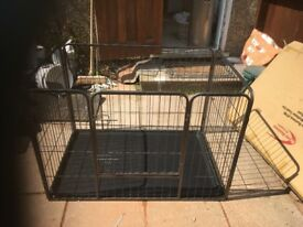 dog cage large 107cm length x 71cm x 155 cm