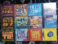hits series collection cd lot charts pop party dance tip bundle collection