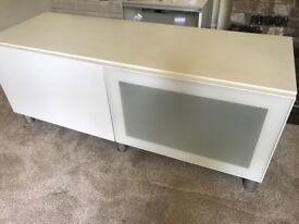 Ikea Besta TV bench including doors