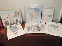 6 New Baby Gift Bags