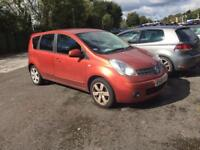 2008 NISSAN NOTE 1.6 AUTOMATIC LOW MILLEGE ONLY 33k