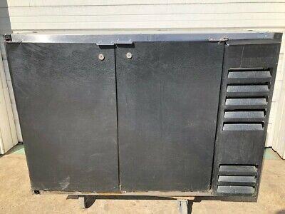 Beverage Air 2 Door Bar Back Beer Cooler Refrigerator