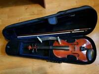 Primavera Violin with accessories
