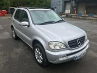 STUNNING CONDITION 7 SEATER MERCEDES ML 270CDI,LOW MILES 80K FULL HISTORY,DRIVES SUPERB,YEAR MOT