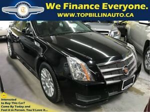 2010 Cadillac CTS with Panoramic Sunroof 128K kms